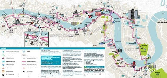 thames cultural bike tour begins at the south bank and follows the thames through rotherhithe to the world heritage site of maritime greenwich